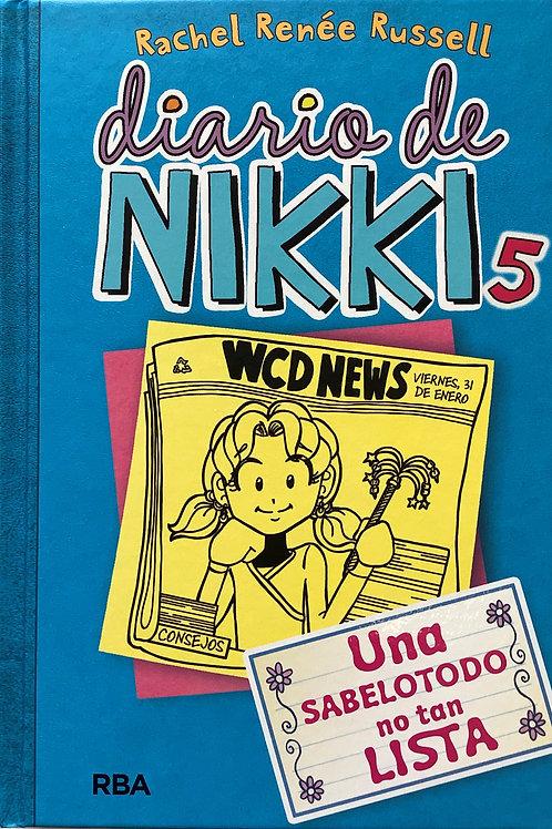 Diario de Nikky - 5 - Una sabelotodo no tan lista