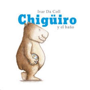 Chigüiro y el baño