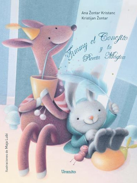 Timmy y el conejito y la receta mágica