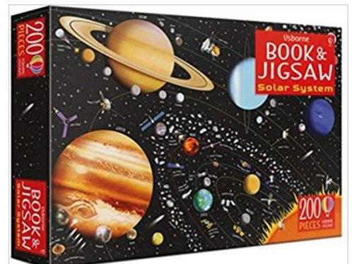 Book & Jigsaw Solar system