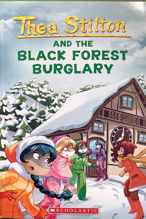 Tea Stilton and the Black forest burglary