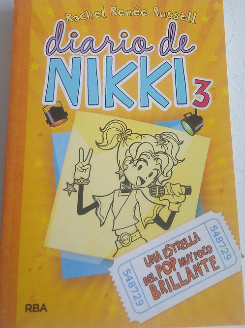 Diario de Nikki 3 Una estrella del pop muy poco brillante