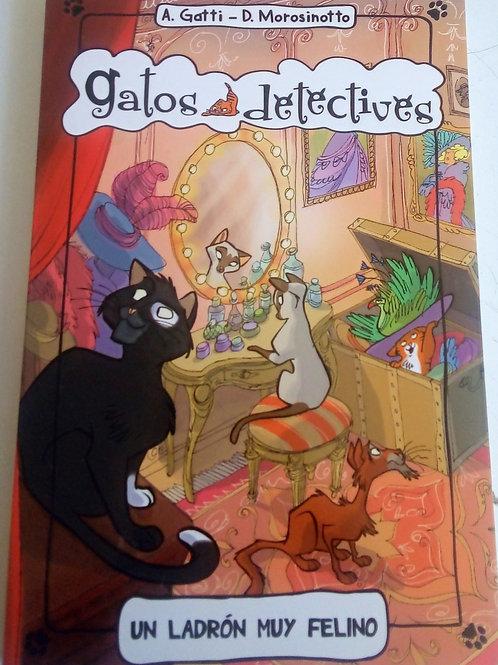 Gatos detectives - Un ladrón muy felino