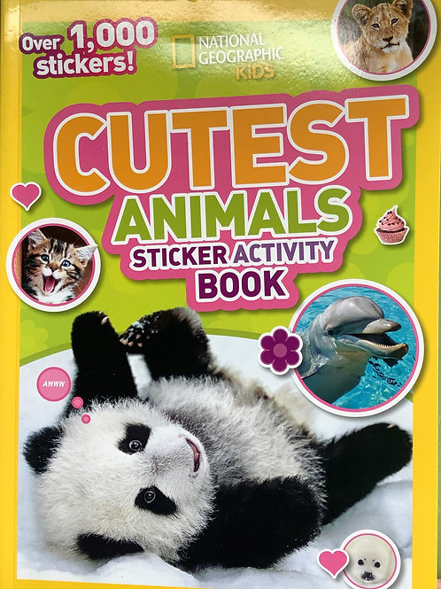 Cutest Animals - Sticker Activity Book