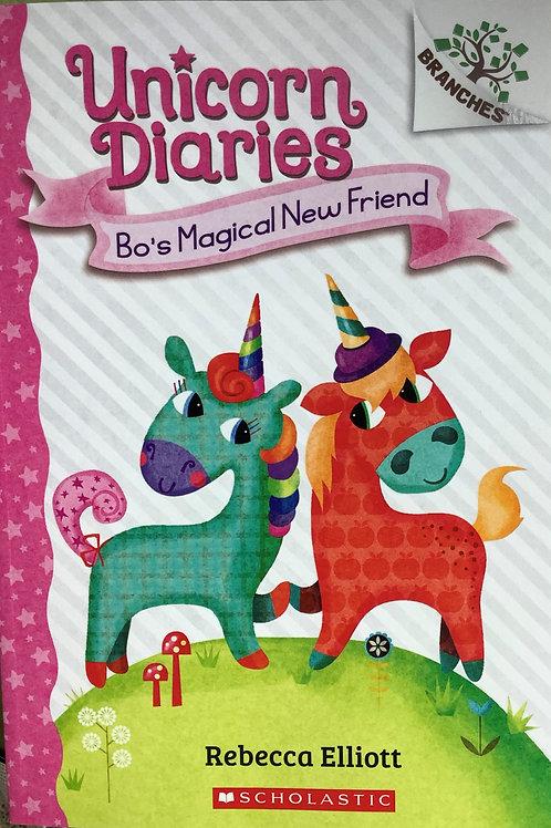 Unicorn Diaries - Bo's magical new friend