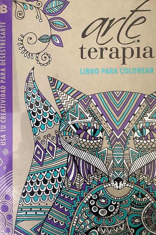 Arte Terapia - Libro para colorear
