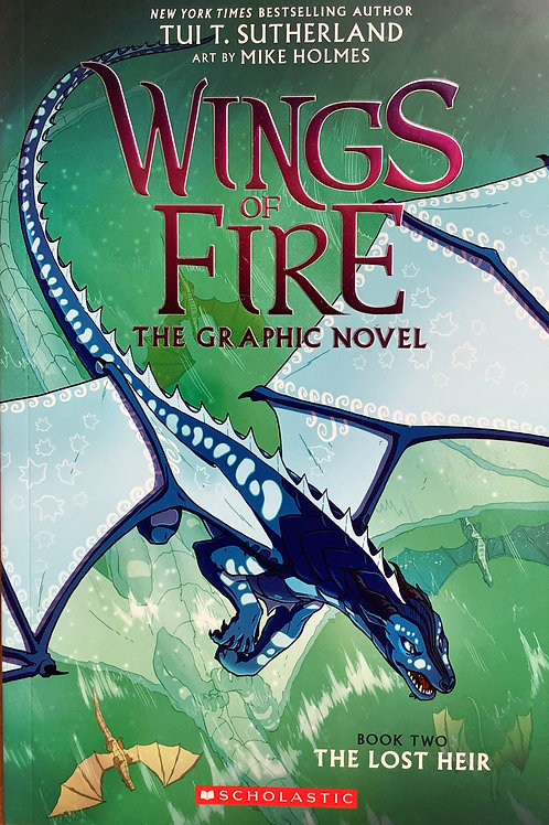 Wings Fire - The graphic novel - Book Two The lost heir