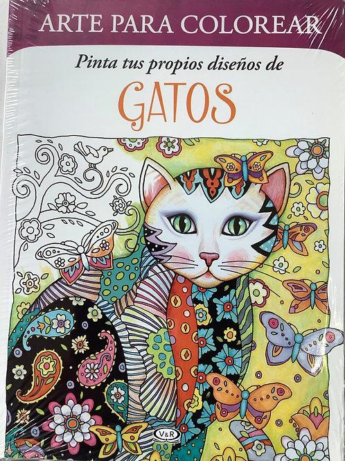 Pinta tus propios diseños de gatos