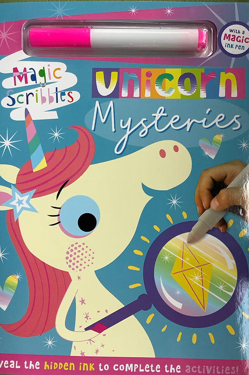 Unicorn mysteries - Magic scribbles