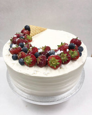 kakku, kermakakku
