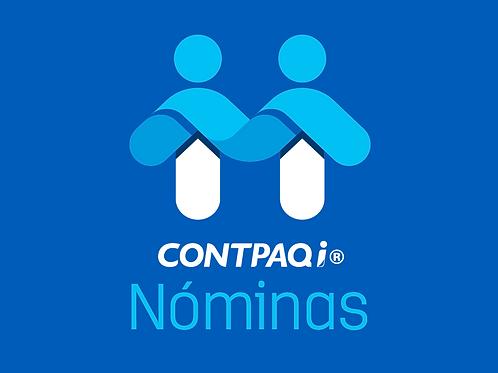 Contpaqi Nóminas Licencia Nueva Anual 1RFC