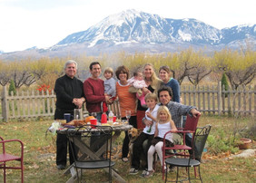 Thanksgiving in the orchard