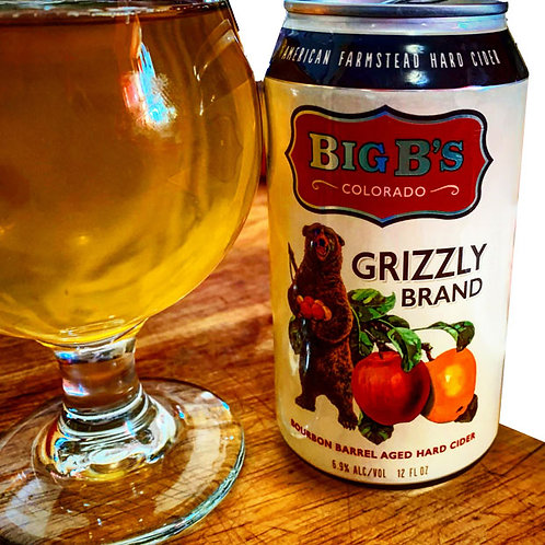 Grizzly Brand Hard Cider