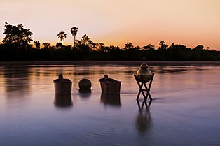 Ideal safari private locations like Botswana - Great Plains Conservations Selinda Reserve