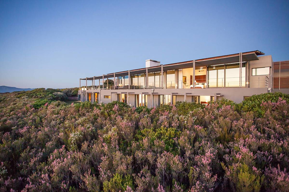 Private villa at Grootbos Nature Reserve, South Africa