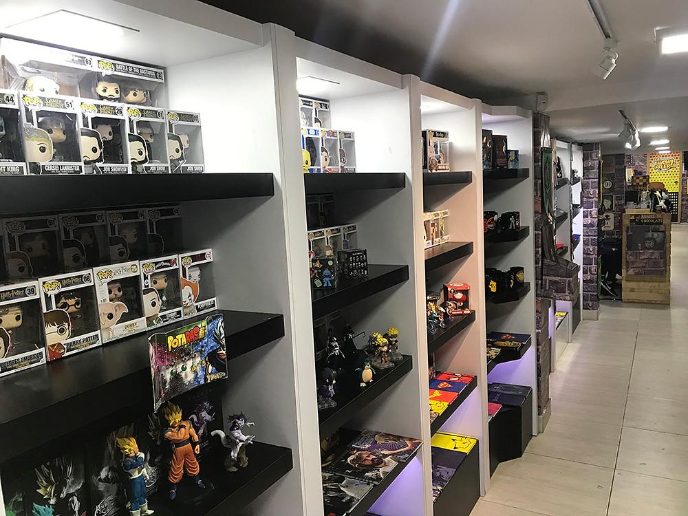 FOTO: La tienda Planet Comics que permite un lugar de reunión
