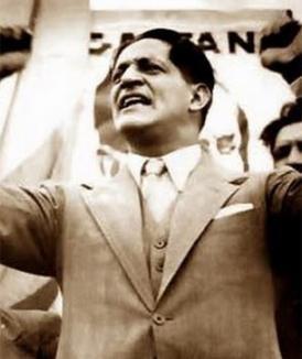 Jorge Eliecer Gaitán al derecho