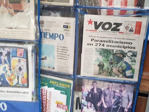 Periodistas del Meta rinden homenaje a quienes murieron defendiendo libertad de prensa durante el co