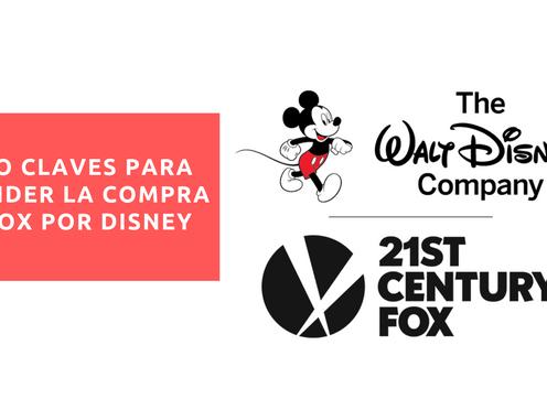Cinco claves para entender la compra de Fox por Disney