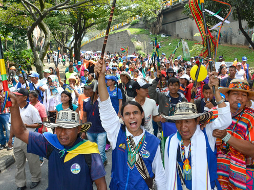 Cinco claves para entender la movilización indígena del Cauca