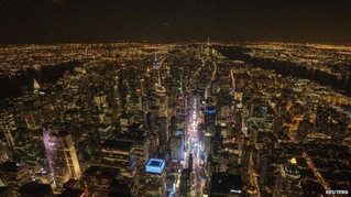 NY state buildings dim lights: two benefits