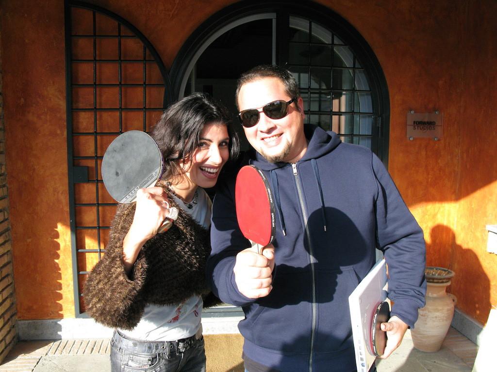 Giorgia con Federico