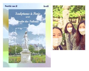 Sculptures à Paris: Jardin des Tuileries