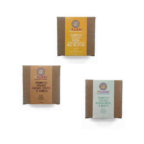 Shampoo Solido Xixanthe (Varios Aromas)