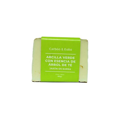 Jabon de Arcilla Verde