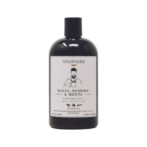 Shampoo 3 en 1 para Caballero