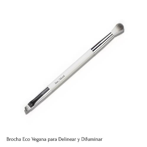 Brocha Eco Vegana para Ojos - Delinear y Difuminar