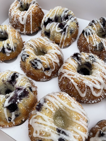 Lemon Blueberry Bundtcakes