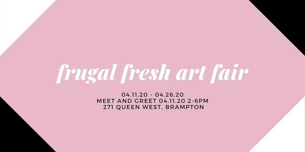 Frugal Fresh Art Fair