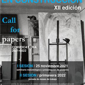 """Seminario de posgrado """"En Construcción"""" XII Edición - CFP"""
