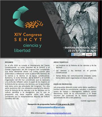 XIV Congreso SEHCYT ciencia y libertad