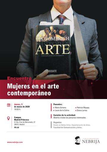 """Encuentro """"Mujeres en el arte contemporáneo"""""""