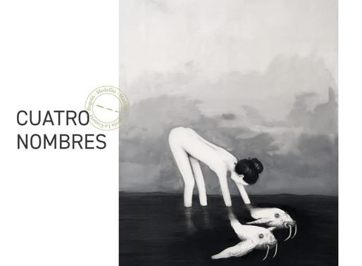 """Inauguración de la exposición """"Cuatro nombres"""" (Galería La Cometa, Madrid)"""