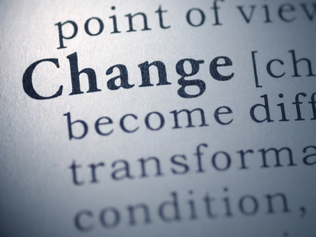 change: are we paying attention