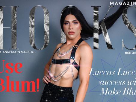 Strike a pose like BLUM! Conheça Luccas Rodrigues, mais conhecido como Luccas Luccas.