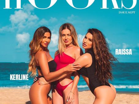 Raissa Barbosa, Paulinha e Kerline Cardoso:  S.O.S  alta temperatura em ensaio exclusivo para Hooks!