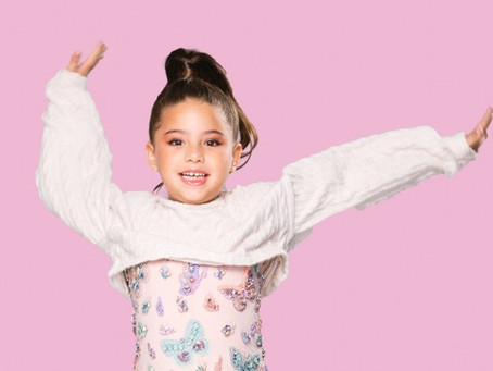 Sophia Eldo: nossa pequena Miss Universo!