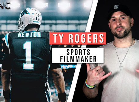 How Ty Rogers went from baseball player to Cam Newton's videographer| EP 156