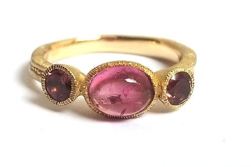 Princesse ring GM pink