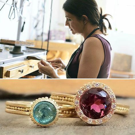 Valerie Lachuer- bijoux de créateur - jewelry maker - fine jewelry