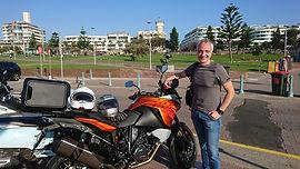 Francesco Delfino riding with WEEKEND RI
