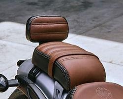 Indian Scout Bobber Passenger Seat