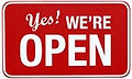 Yes We Are Open