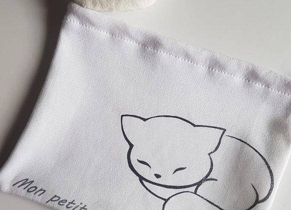 Pochette *Mon petit chat*