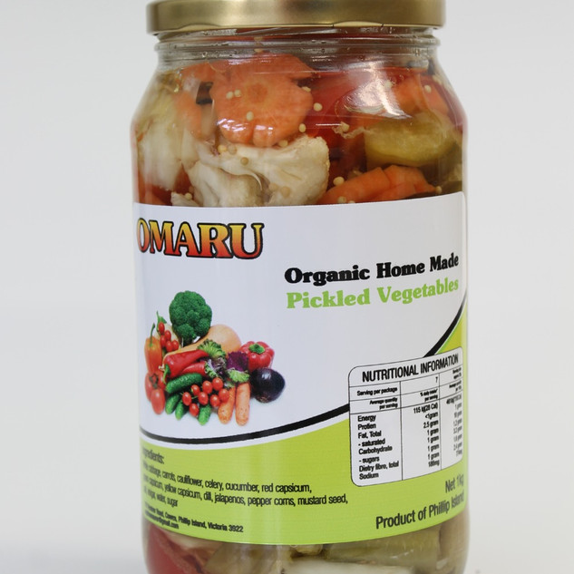 Organic Home Made Pickled Vegetables_edi
