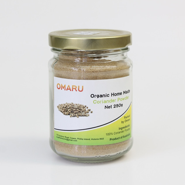 Organic Home Made Coriander Powder_edite